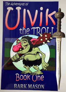 Portada del libro The Adventures of Ulvik the Troll, de Bark Mason