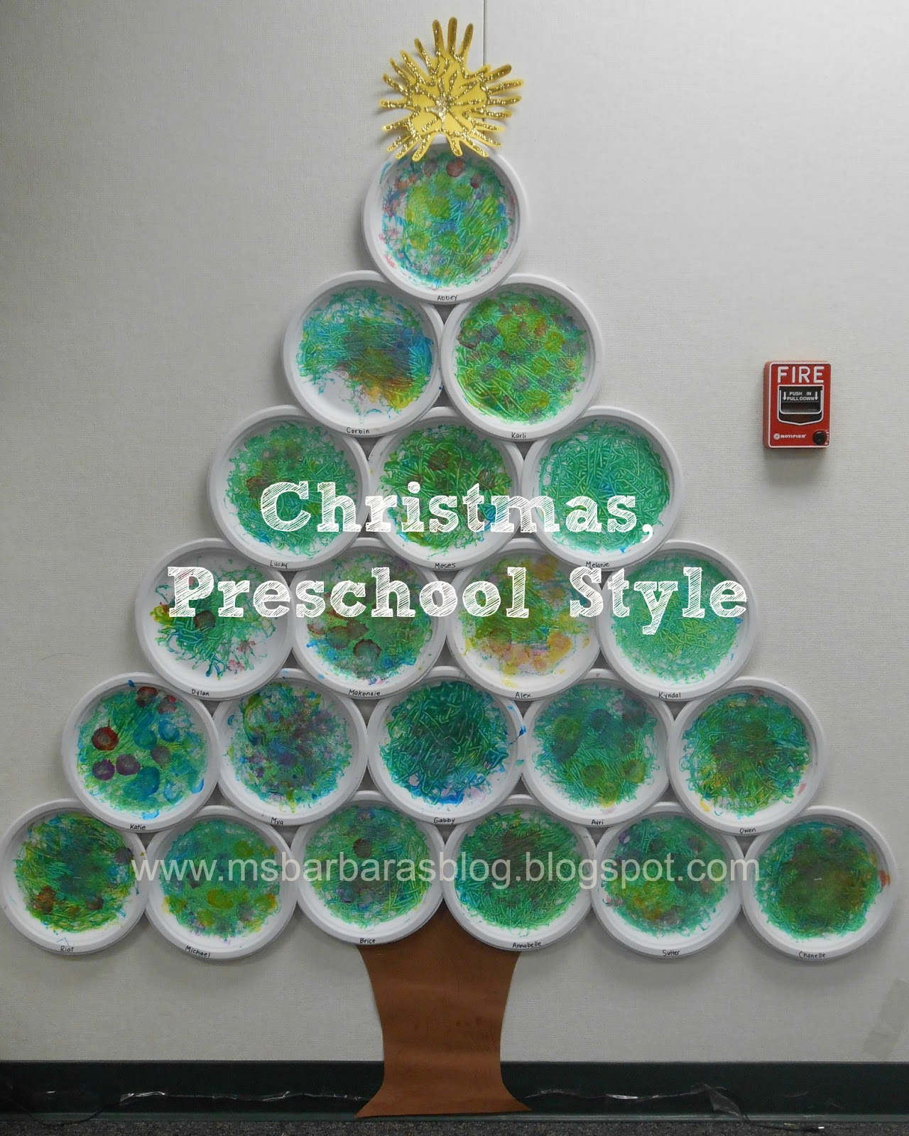 For The Children Christmas Preschool Style