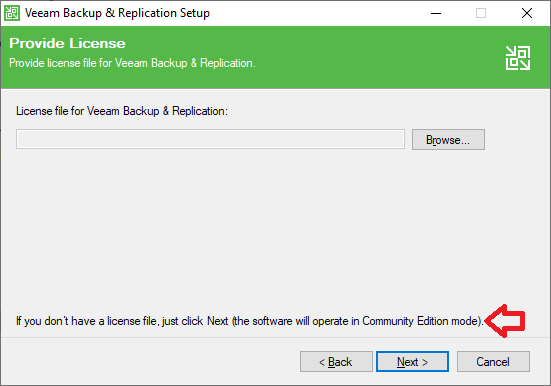 Veeam Backup: Community Edition
