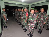 Jelang Pemilu, Kodim 0735/Surakarta Bersama Polresta Pergencar Patroli Malam