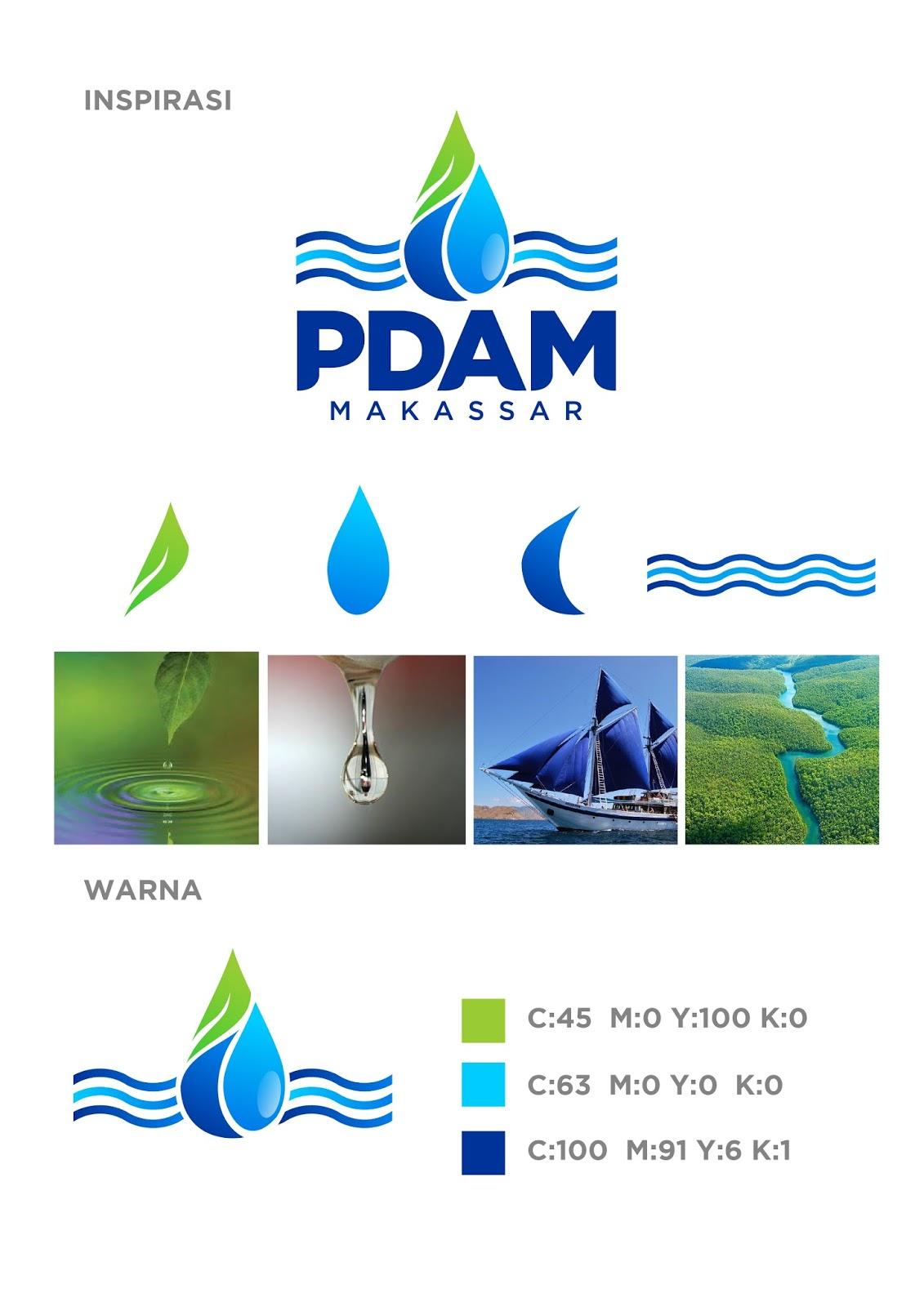 Makna Logo Baru Pdam Kota Makassar Sangdesstock