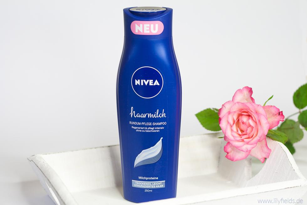 Foto zeigt Nivea Haarmilch Rundum-Pflege Shampoo