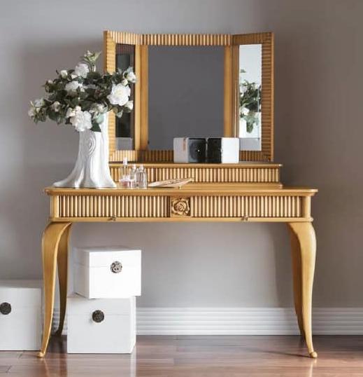 model meja rias minimalis sederhana