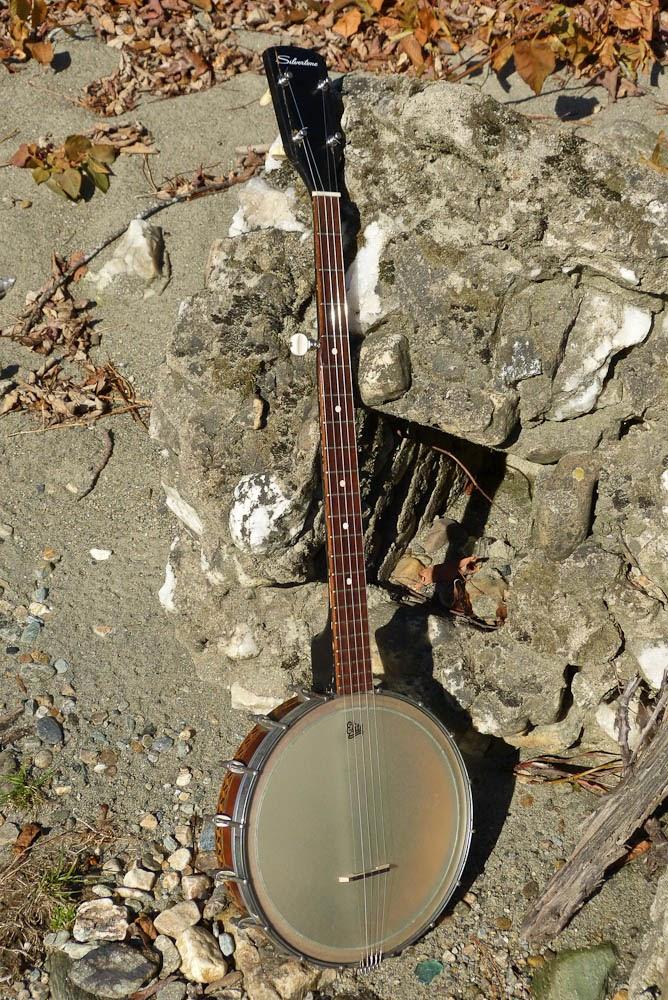 c 1925/1965/2013 Frankenstein Silvertone 5-String Banjo