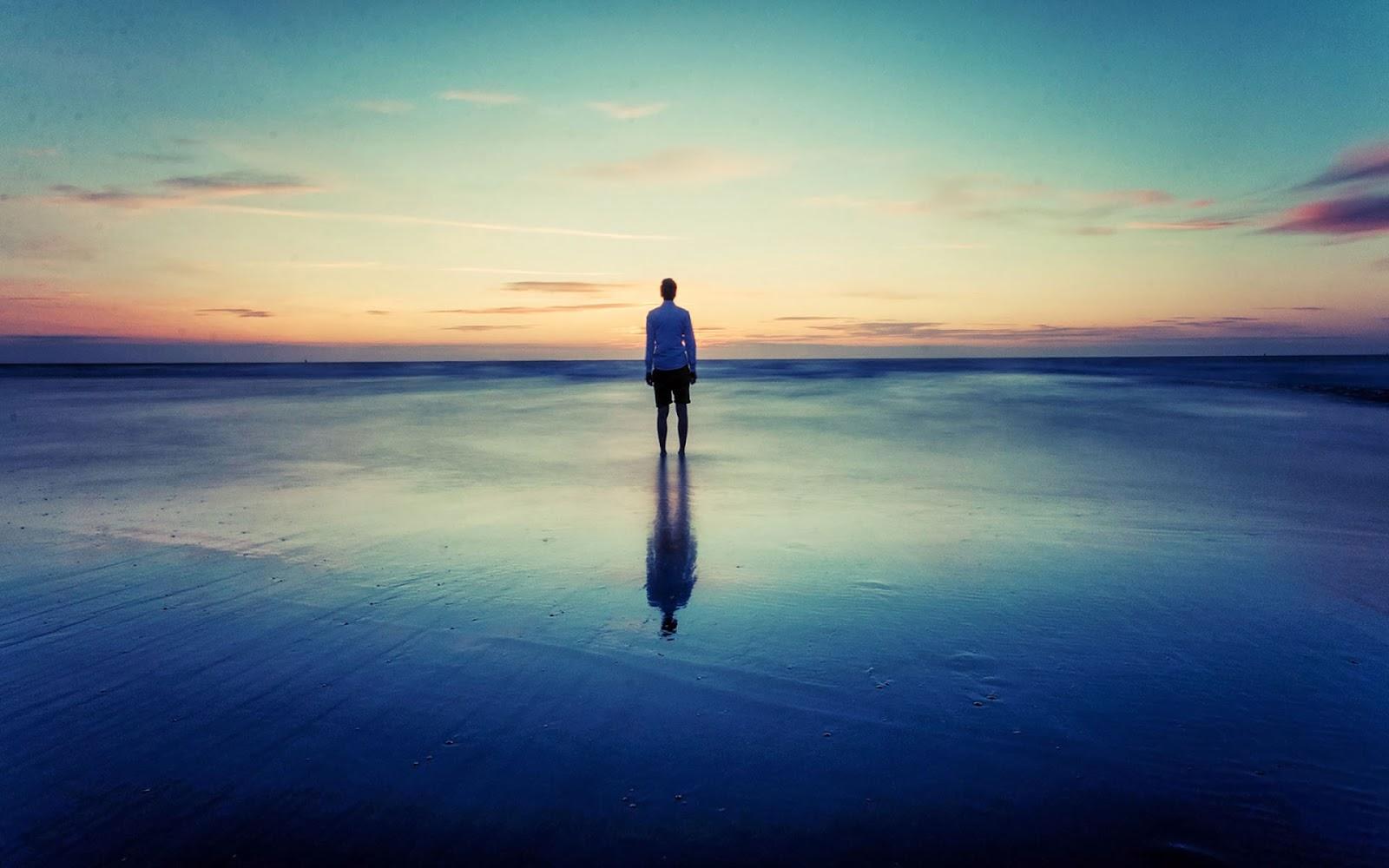 hình ảnh cô đơn và tuyệt vọng