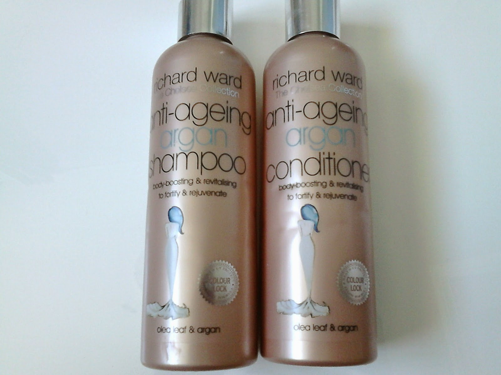 Richard Ward Anti-Ageing Argan Shampoo and Conditioner