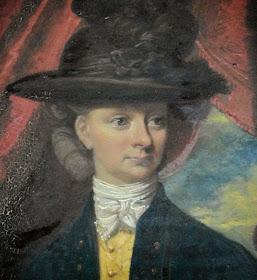 """Anne """"Nanny"""" Robinson  by John Downman (1780)"""