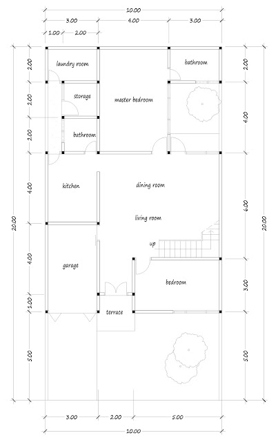 house with floor area of 250 square meters -01