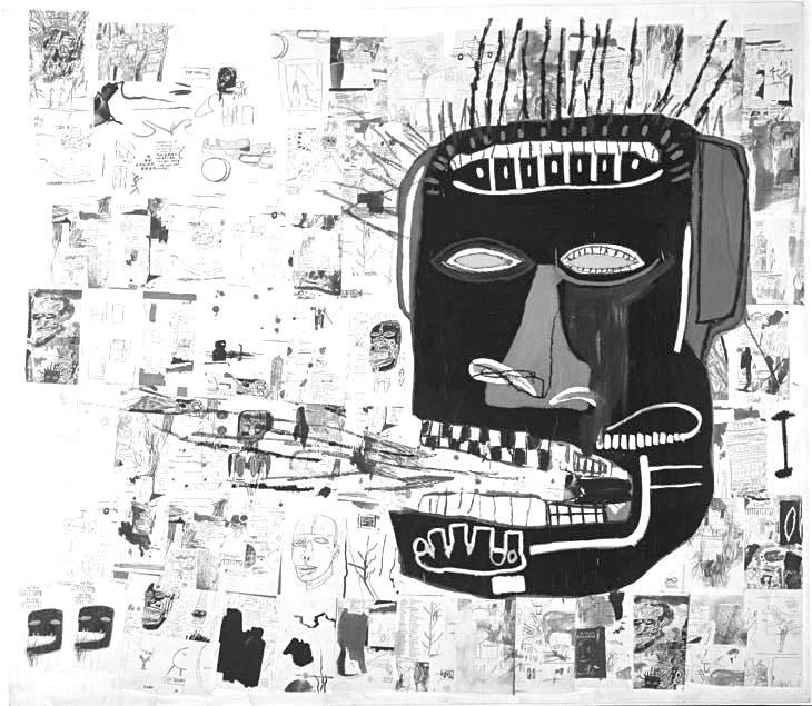 Jean-Michel Basquiat. Glenn. 1984