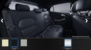 Nội thất Mercedes GLA 200 2018 màu Đen Artico 111