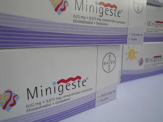 Minigeste® e a menstruação
