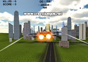 Jugar Air War 3D City Warfare