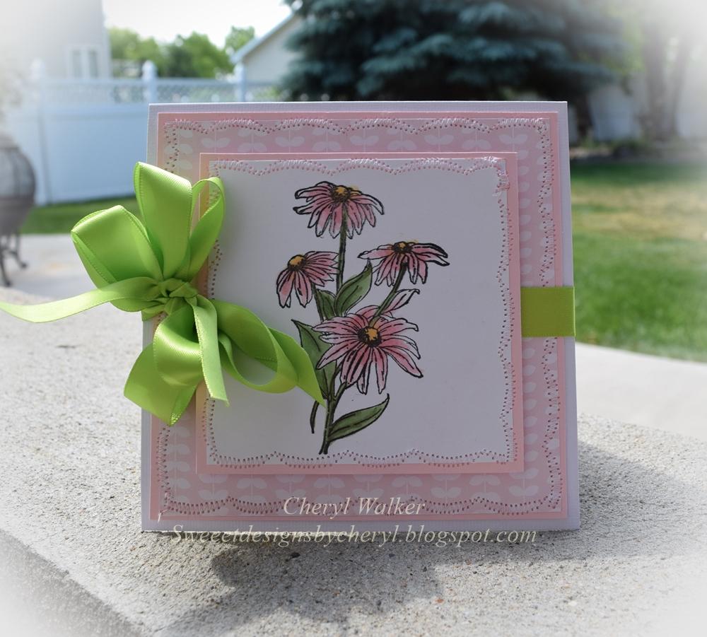 I Brake For Stamps I Brake For Beautiful Flowers