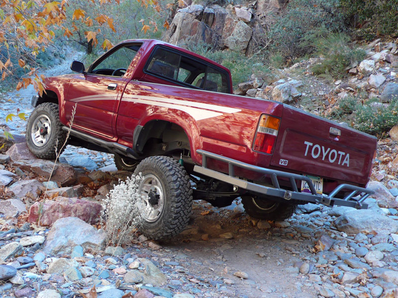 Daily Turismo: 10k: 1990 Toyota Hilux 4x4 Pickup, Expedition Restoration