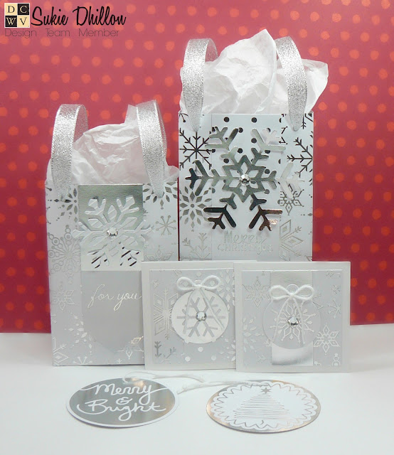 Gift boxes and cards for Christmas...easy peasy style!