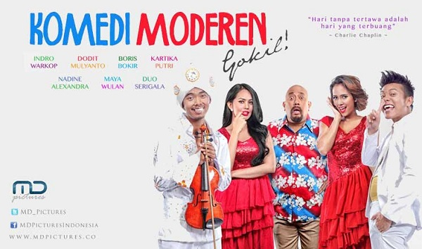 Download Film Komedi Modern Gokil (2015) DVDRip Full Movie