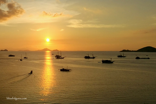 Labuan Bajo Indonesia Sunset