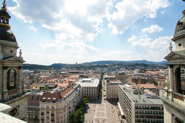 Panorama dalla Basilica di Santo Stefano-Budapest