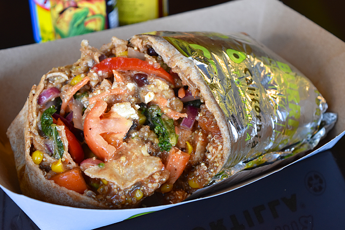 California Tortilla healthy mexican burrito