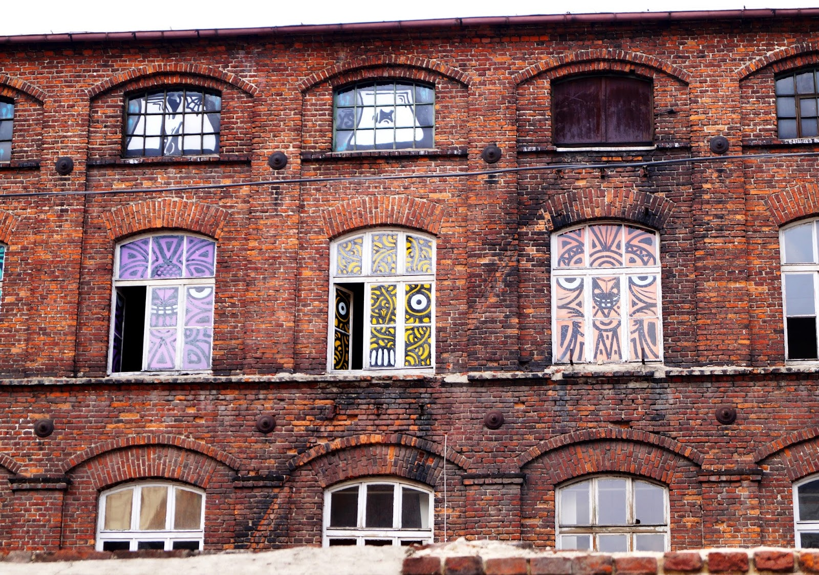 funny windows Lodz