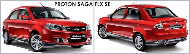 Model Kereta Proton Saga FLX