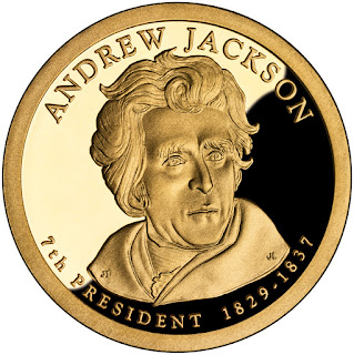 Andrew Jackson US Presidential Dollar Coin