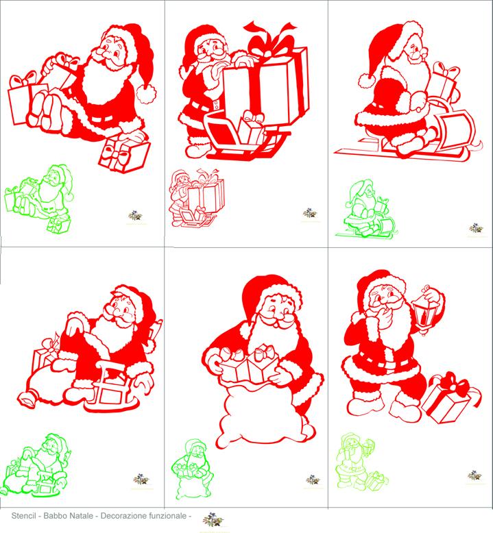 Pin Images-of-decorazioni-di-natale-utilizzate-gli-stencil-anche-per on Pinte...