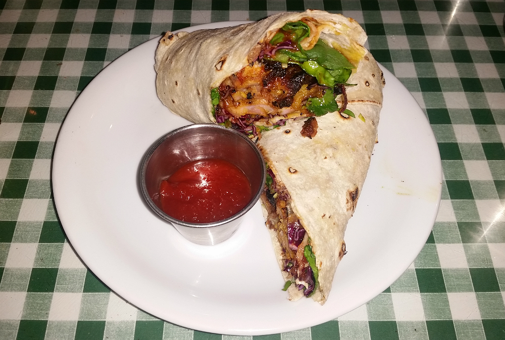 dishoom chicken tikka roll