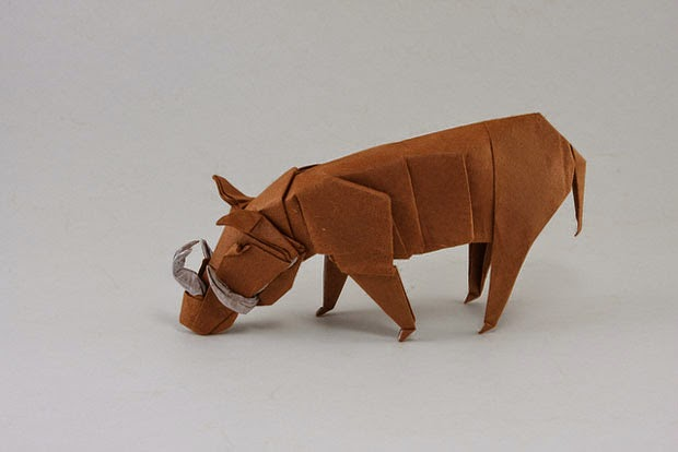 origami animals cool art form of paper folding