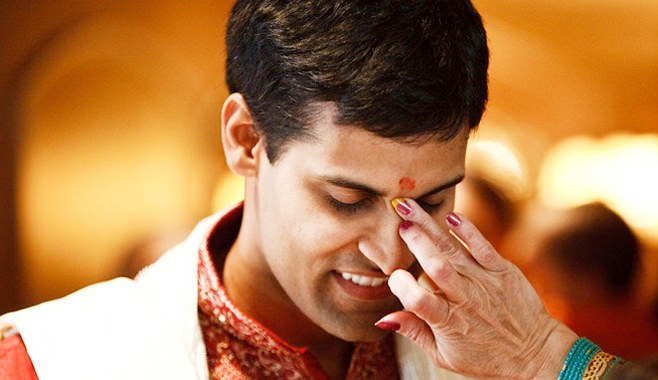 North Indian weddings Tilak