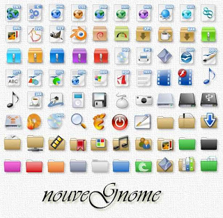 nouve gnome icons