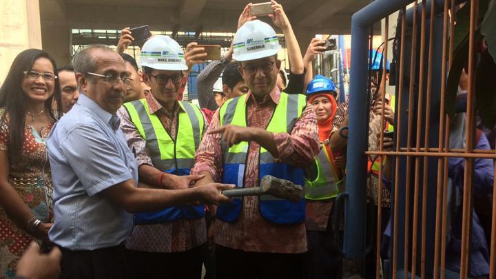 Mahesh Lalmalani dan Gubernur DKI Anies Baswedan