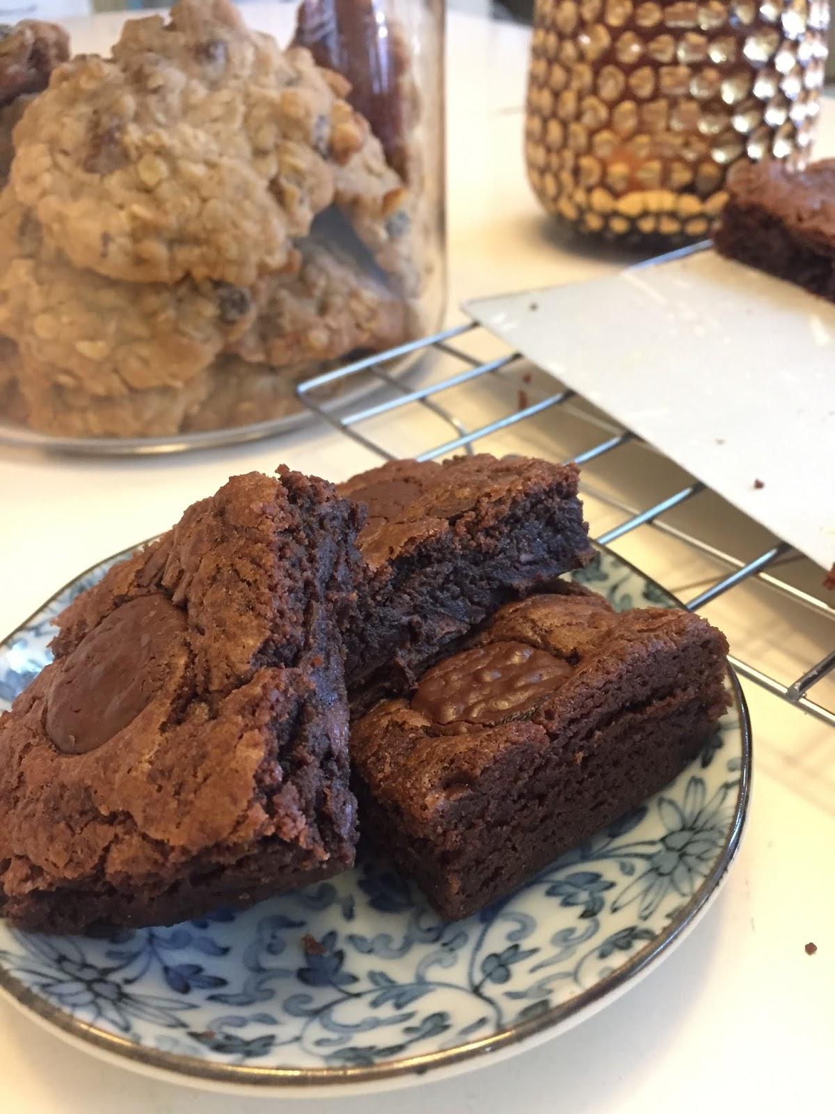 Chocolate Congo Bar, Resepi Senang, Mudah Dan Sedap