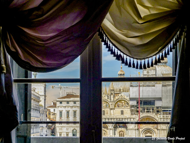 Vista de la Basílica de San Marcos desde el Museo Correr - Venecia por El Guisante Verde Project