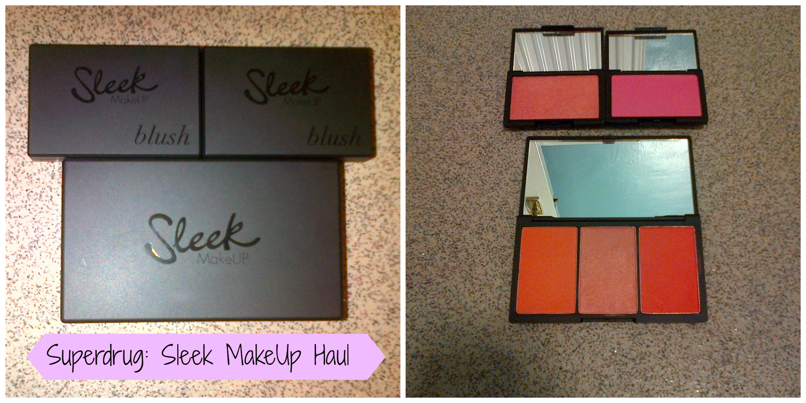 Sleek Makeup Haul