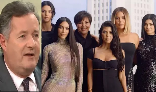 Piers Morgan slams the entire Kardashian-Jenner family For The Second Time