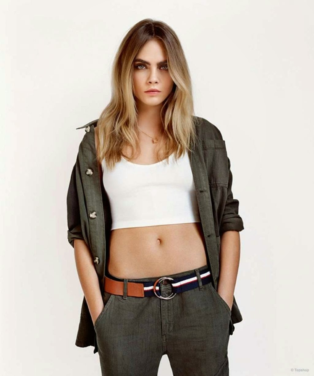 Topshop Spring/Summer 2015 Campaign featuring Cara Delevingne