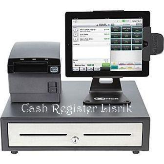 cash register listrik