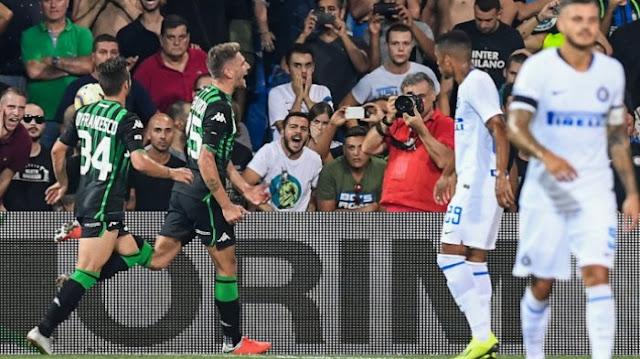 Hasil Akhir Sassuolo Vs Inter Milan Di Laga Perdana Seri A Liga Italia