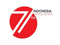 INILAH LOGO HUT YANG KE-71 KEMERDEKAAN REPUBLIK INDONESIA