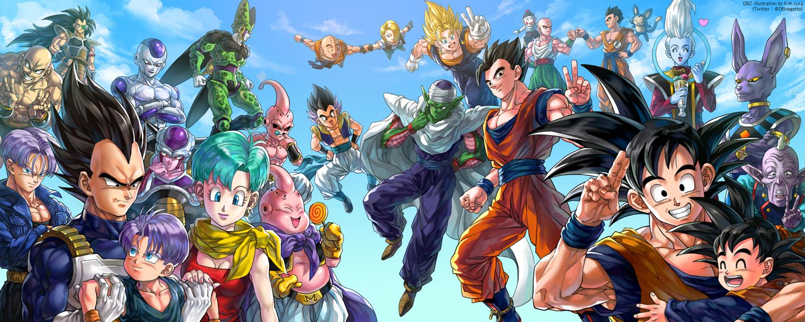Patada De Caballo Fondos Animados: Patada De Caballo: Dragon Ball Z