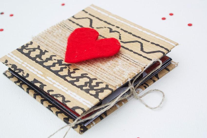 Book Cover Handmade Valentines : Diy mini instagram photo book