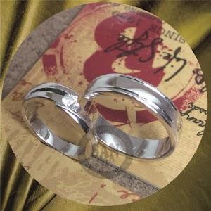 cincin emasputih perak p5751
