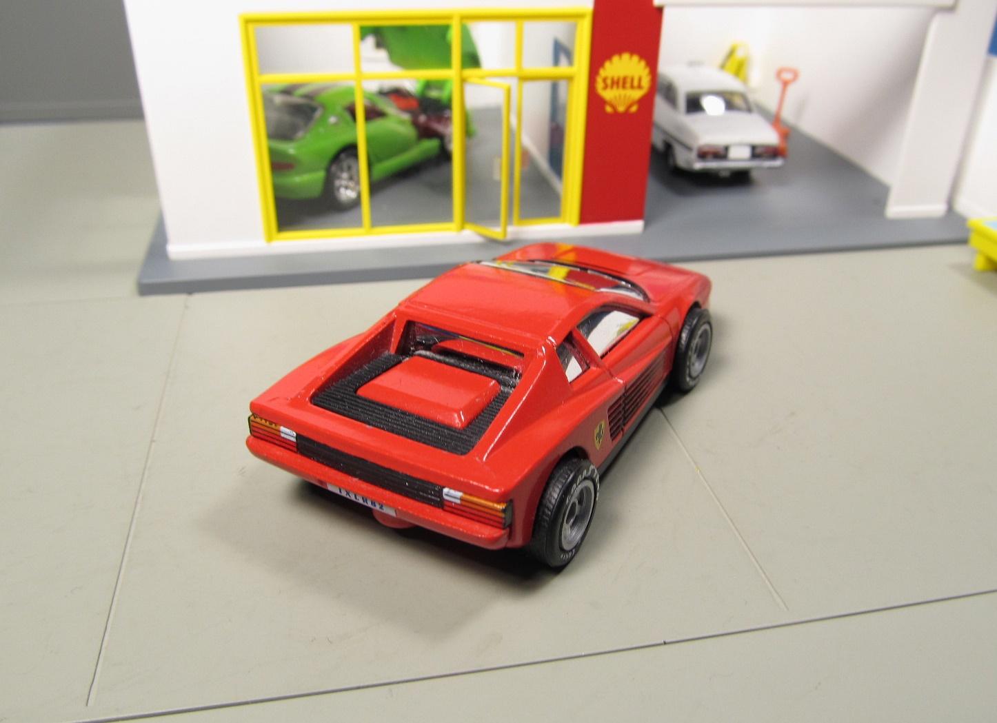 Matchbox World Class Ferrari Testarossa Rubber Tires
