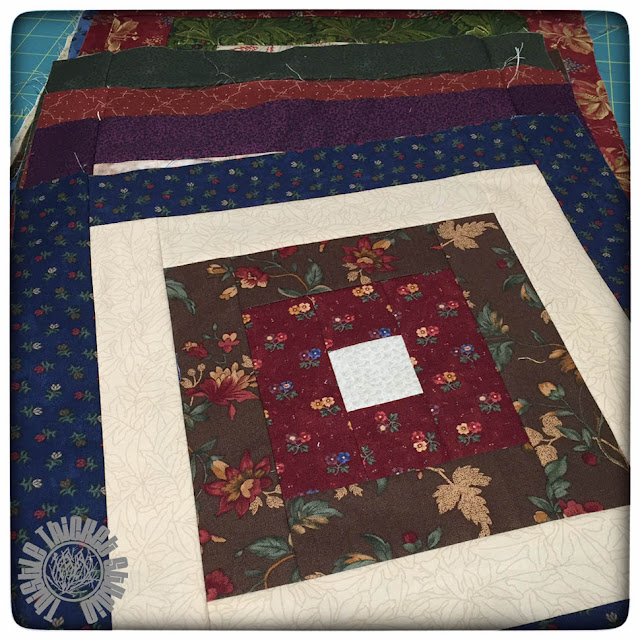 Scrappy Squares Quilt by Thistle Thicket Studio. www.thistlethicketstudio.com