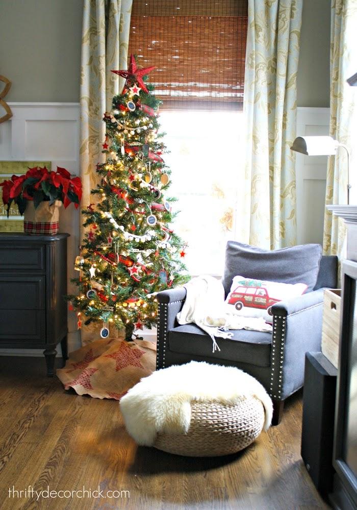 thin Christmas tree Target
