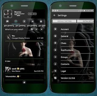 Download BBM MOD Black Angel Versi Terbaru v3.2.0.6 APK
