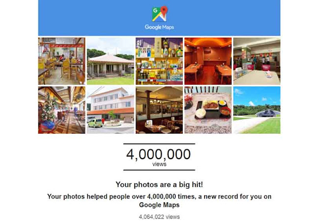 4 million views on Google Maps