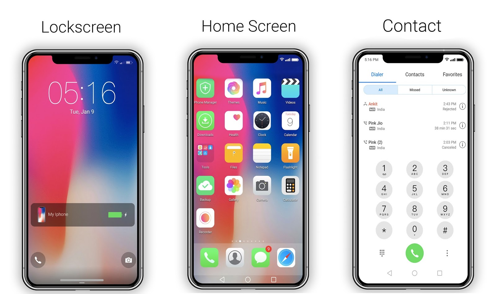 IOS 11 / IPhone X theme For EMUI 5 - HUAWEI THEMES