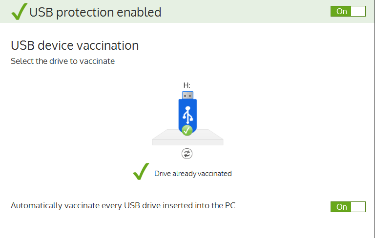 Panda USB Vaccine 3.0
